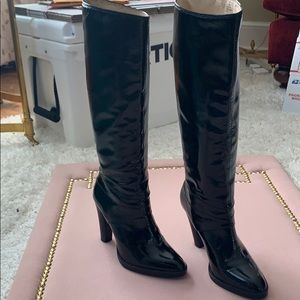 Michael Kors Patent Leather Boots